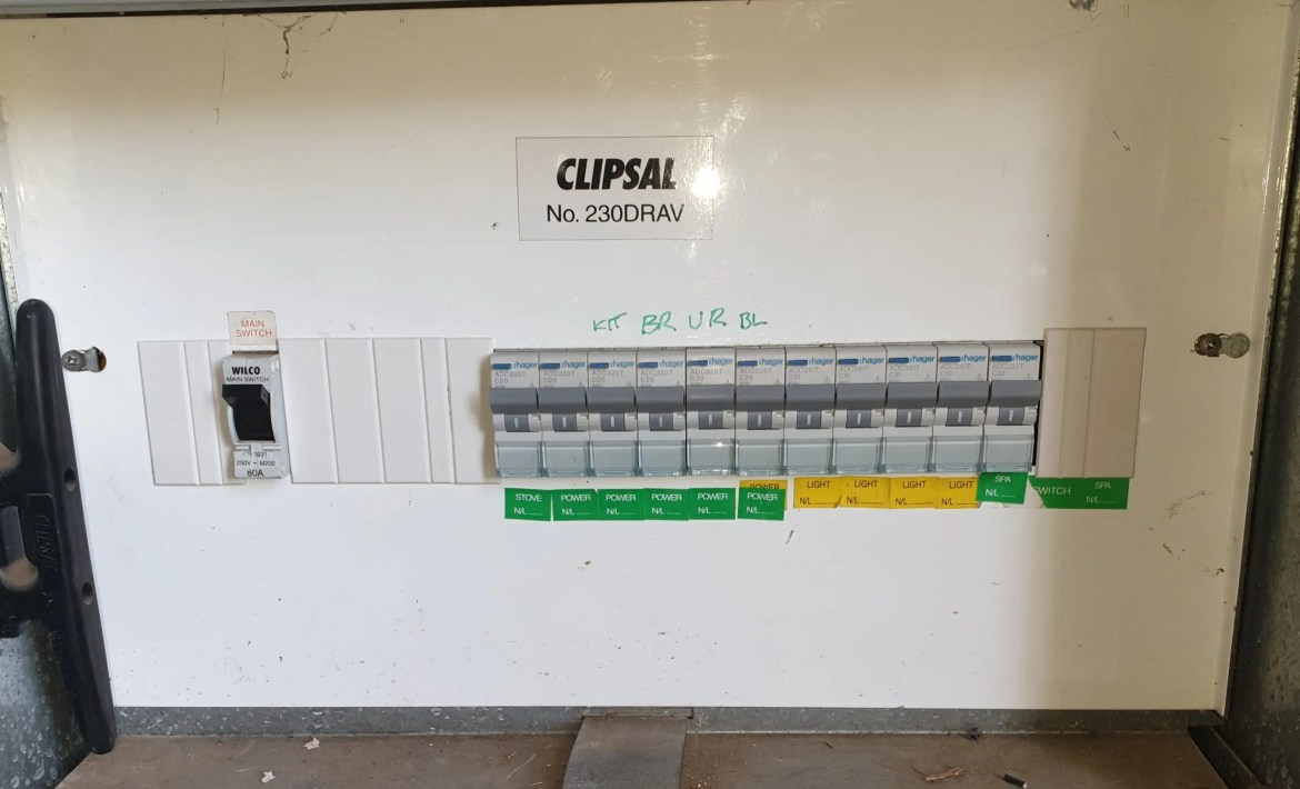 Geelong Electrician Safety Switch Upgrade