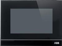 ABB 2CKA006220A0120, 10,9 cm (4.3), 480 x 854 pixel, Kapacitiv, Smart home system, Wall/Tabletop, Sort