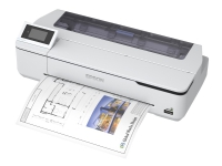 Epson SureColor SC-T3100N - 24 stor-format printer - farve - blækprinter - Rulle A1 (61,0 cm) - 2400 x 1200 dpi - Gigabit LAN, Wi-Fi(n), USB 3.0