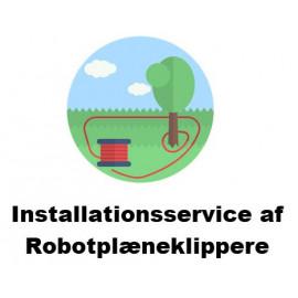 Installation af Robot