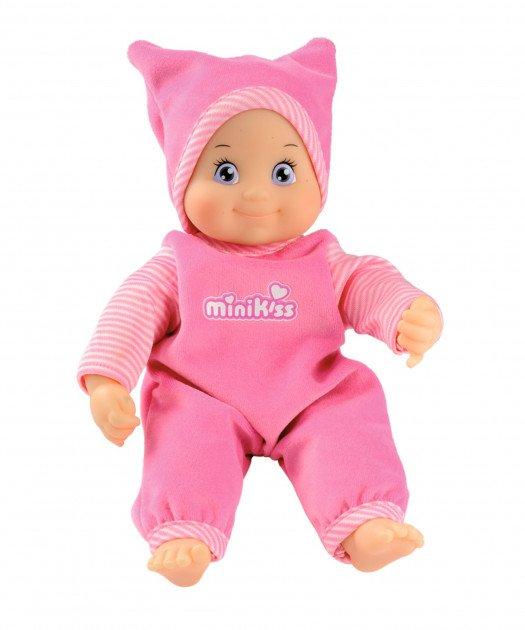 Minikiss Dukke Med Tøj Og Hue - Pink