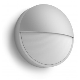 Philips Capricorn væglampe, grå 1x6w