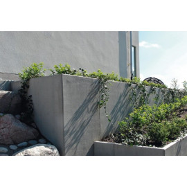 RC Beton L-Stød20KN/m2 160 x 100 cm - Grå
