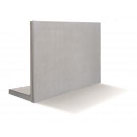 RC Beton L-Stød4KN/m2 100 x 200 cm - Grå
