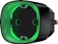 230V sokkel, smart stik med energimonitor, maks belastning 2500W med LED indikation på forbrug. Trådløs 2-vejs 868 MHz, farve: sort