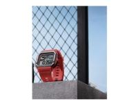 Amazfit Neo - Smart ur med bånd - polyuretan - orange - display 1.2 - monokrom - Bluetooth - 32 g