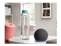 Amazon Echo Dot (4th Generation) - Smart højttaler - Bluetooth, Wi-Fi - App-kontrolleret - antracit (sort)