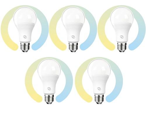Prokord Smart Home Bulb E27 10w Cct 5-pack