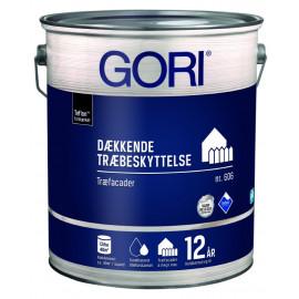 Dyrup Gori 606 Træbeskyttelse Dækkende Ral 9010 - 5,0lt