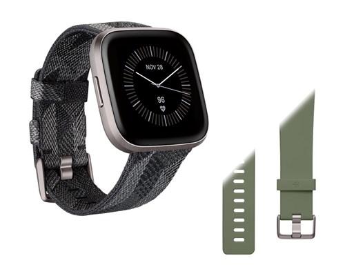 Fitbit Versa 2 Special Edition Smoke Woven Sort Smart Ur