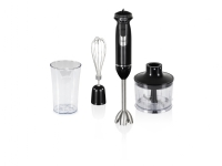 NORDIC HOME Stockholm, 3 in 1 blender set, 800W, silver / blac