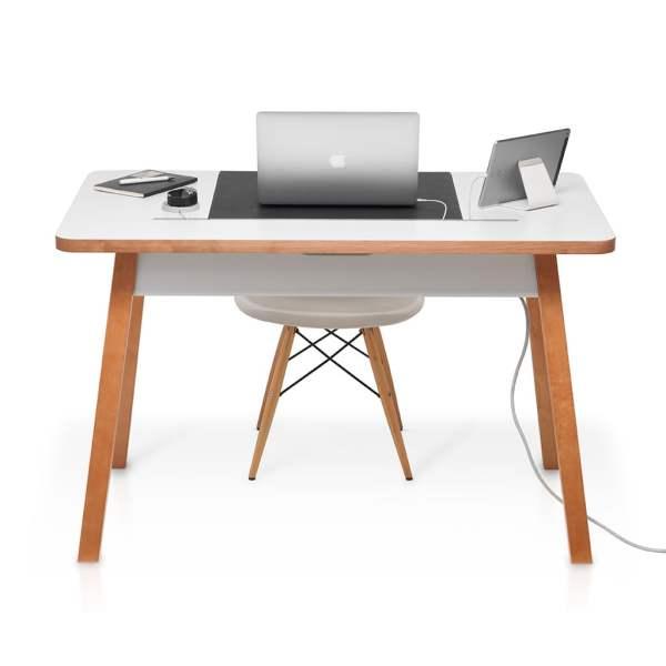 Bluelounge StudioDesk II - 120 cm - Unique desk with cable management