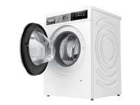 Bosch HomeProfessional i-DOS WAXH2E0LSN - Vaskemaskine - fritstående - Wi-Fi - bredde: 59.8 cm - dybde: 63.2 cm - højde: 84.8 cm - frontbetjening - 7