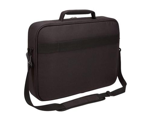 "Case Logic Advantage Laptop Clamshell Bag 15.6"" Black 15"" - 16"", 15.6"" Polyester"