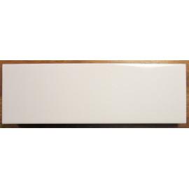 Modul Hvid Blank væg 9,7x29,7 cm