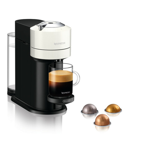 Nespresso Vertuo Next D White Kapselkaffemaskine - Hvid