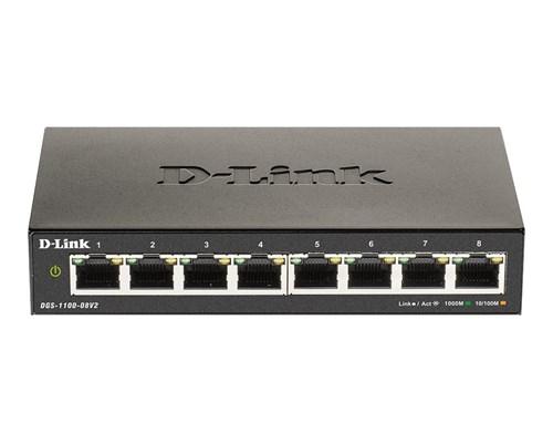 D-link Dgs 1100 V2 8-port Smart Switch