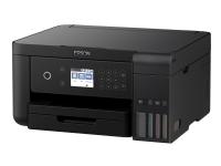 Epson EcoTank ET-3700 - Multifunktionsprinter - farve - blækprinter - A4/Legal (medie) - op til 33 spm (udskriver) - 150 ark - USB, LAN, Wi-Fi - Dupl