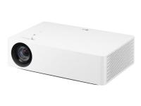 LG CineBeam HU70LS - DLP-projektor - RGB LED - 1500 lumen - 3840 x 2160 - 16:9 - 4K - Miracast Wi-Fi Display - hvid