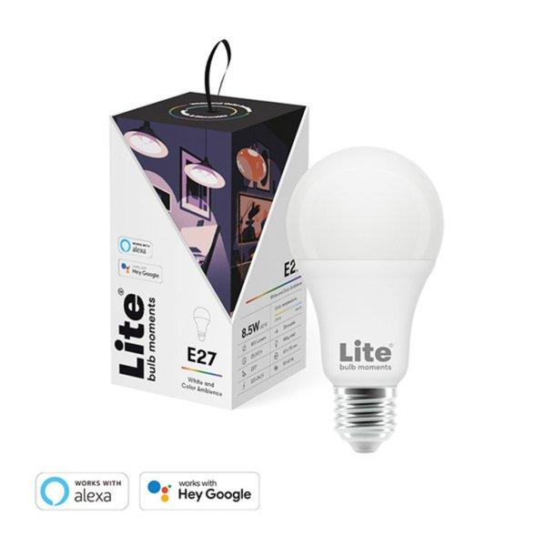 Lite Bulb Moments - E27 9W A60 RGB