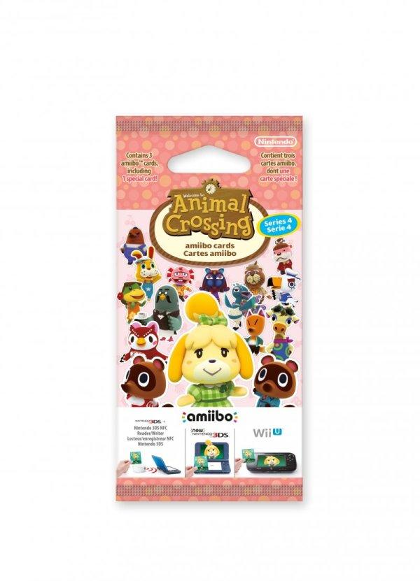 Animal Crossing: Happy Home Designer Amiibo Card Pack (series 4) - Nintendo 3DS