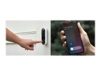 Arlo Video Doorbell - Video intercom system - trådløs - Wi-Fi - 1 kamera(er)