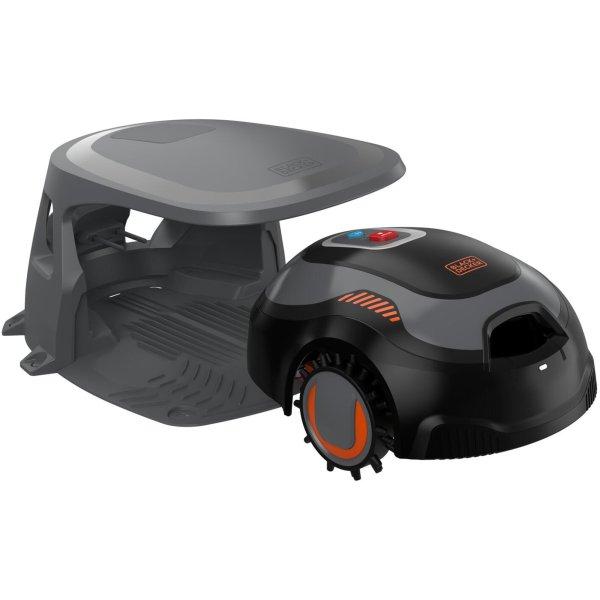 Black & Decker 700 m2 robotplæneklipper m. garage