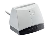 CHERRY SmartTerminal ST-1144 - SMART-kortlæser - USB 2.0 - hvid (top), sort base