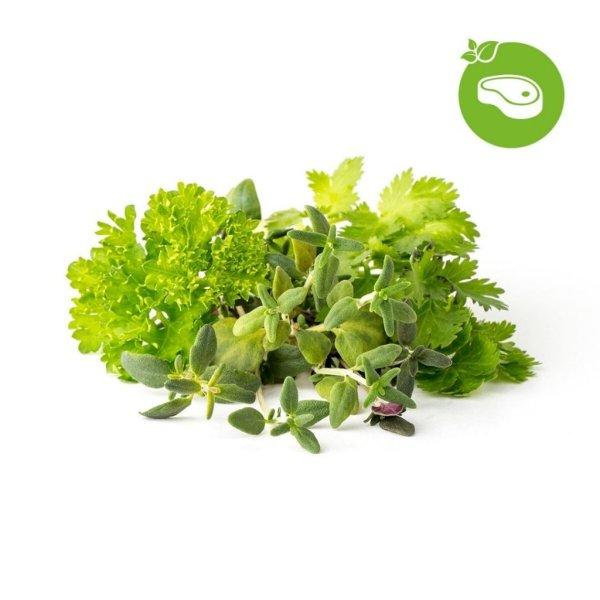 Click and Grow Smart Garden Refill 9-pak - Kød og grill mix krydderi