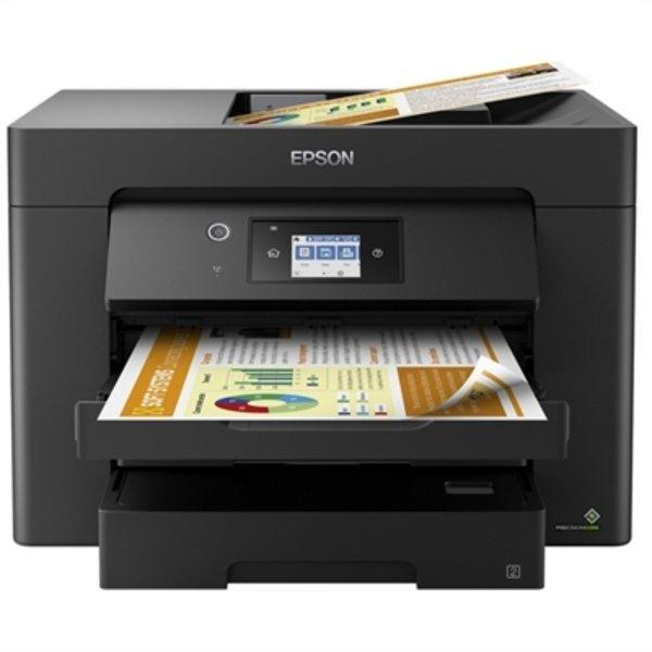 Epson Workforce Wf-7830dtwf Printer - Wifi Lan Usb