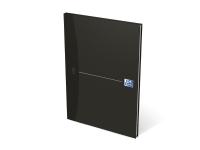 Oxford smart black notesbog a4 ulinjeret