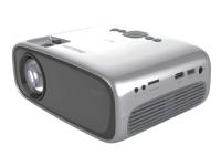 Philips NeoPix Easy Play NPX443 - LCD-projektor - bærbar - WVGA (854 x 480) - 16:9 - Wi-Fi