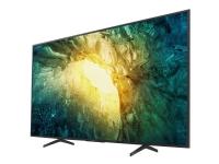 Sony KD-43X7055 - 43 Diagonal klasse (42.5 til at se) - BRAVIA X7055 Series LED-backlit LCD TV - Smart TV - Linux - 4K UHD (2160p) 3840 x 2160 - HD