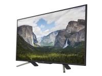 Sony KDL-43WF665 - 43 Diagonal klasse (42.5 til at se) - WF665 LED-backlit LCD TV - Smart TV - 1080p (Full HD) 1920 x 1080 - HDR - direkte belyst L