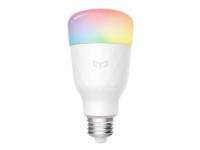 Yeelight 1S (Color) - LED-lyspære - E26 / E27 - 8.5 W - klasse A+ - 16 millioner farver - 1700-6500 K - hvid