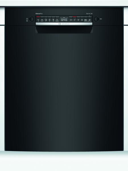 Bosch Smu4hab48s Serie 4 Opvaskemaskine - Sort