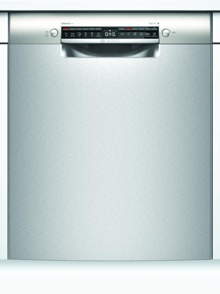 Bosch Smu4eai14s Serie 4 Opvaskemaskine - Rustfrit Stål