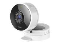 D-Link DCS 8100LH HD 180-Degree Wi-Fi Camera - Netværksovervågningskamera - farve (Dag/nat) - 1 MP - 1280 x 720 - 720p - audio - trådløs - WiFi - Blu