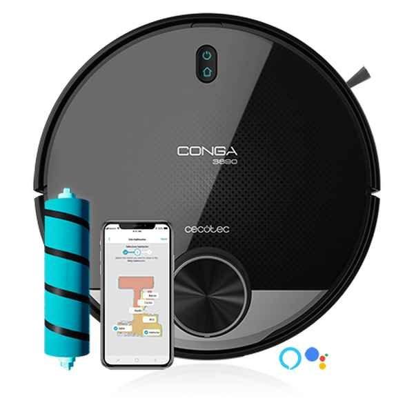 Robotstøvsuger Med Wifi - Cecotec Conga 3890 Vital