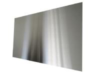 Stænkplade firkantet 600 x 300 mm. rustfri