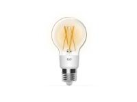 Yeelight Smart - LED-filament-lyspære - E27 - 6 W - klasse A++ - varmt hvidt lys - 2700 K - gennemsigtig