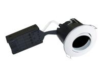 Nordtronic Uni Install - Forsænket lampe - 1 stik - GU10 - rund - hvid
