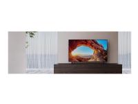 Sony KD-55X85J - 55 Diagonal klasse (54.6 til at se) - X85J Series LED-bagbelyst LCD TV - Smart TV - Google TV - 4K UHD (2160p) 3840 x 2160 - HDR -