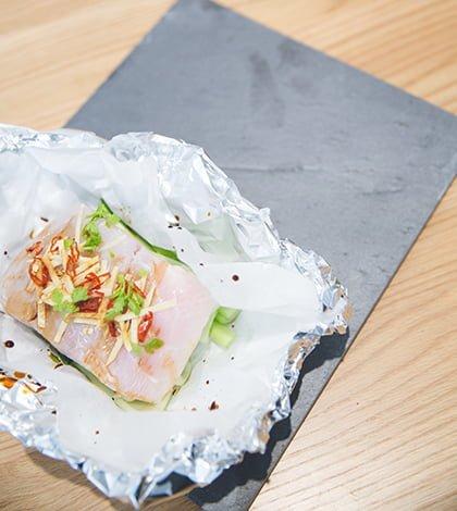 Asian Fish Parcels
