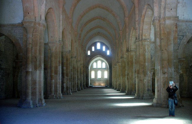 Beth in the Abbey of Fontenay