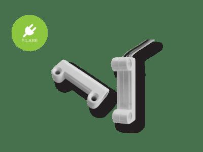contatto magnetico filare montaggio esterno