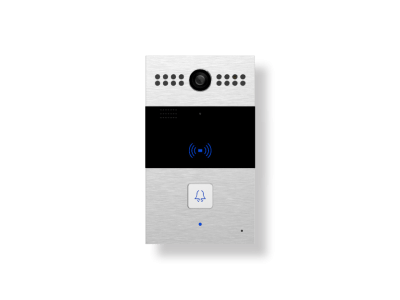 dispositivo videocitofono esterno con 1 pulsante