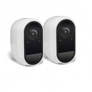 2 Motion and Heat Swann Wireless Security Cameras