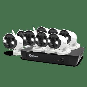 Swann 8x 4K UHD Spotlight Camera with 2TB NVR