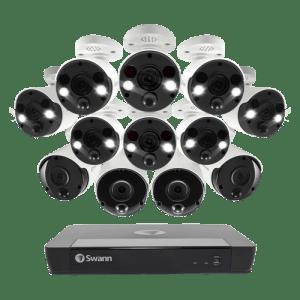 Swann 12 Camera 16 Channel 4K Ultra HD NVR Security System